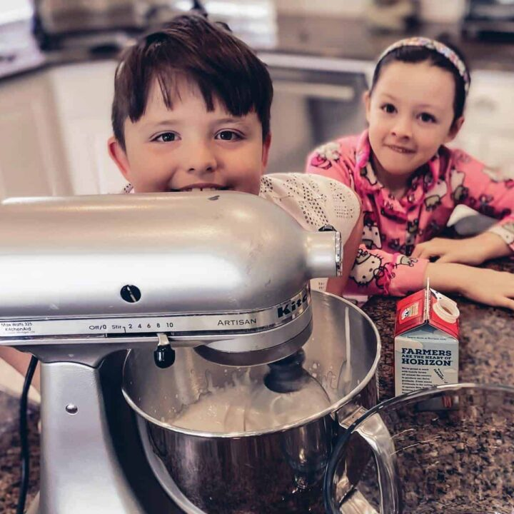 Cora & Levi In the kitchen