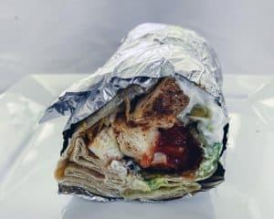 Famous Mission burrito