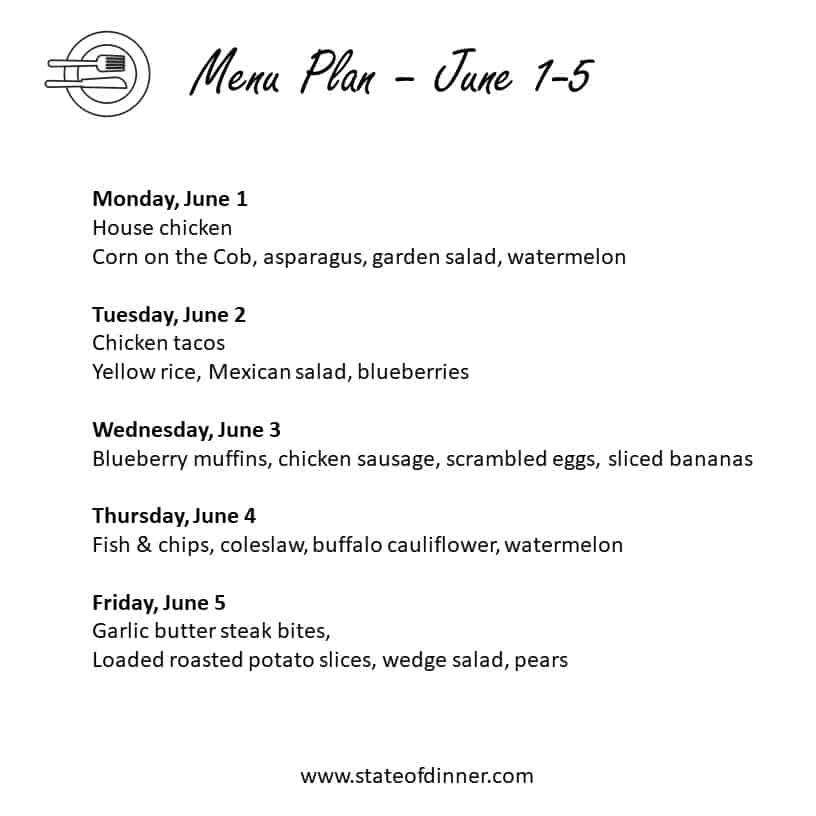 meal plan 060120