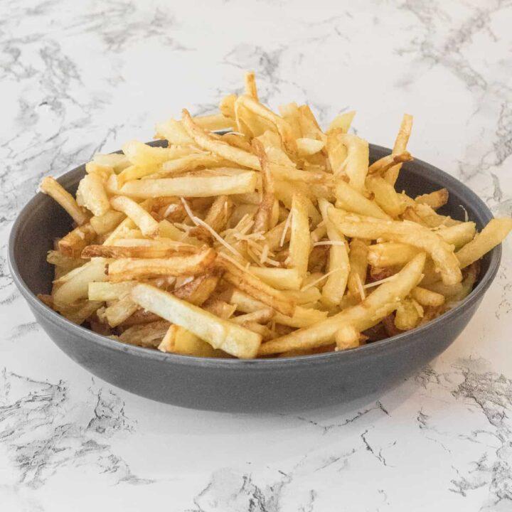 Parmesan Truffle Fries in Bowl