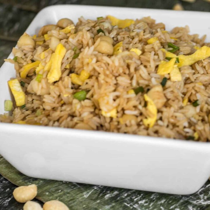 Macadamia Nut Fried Rice