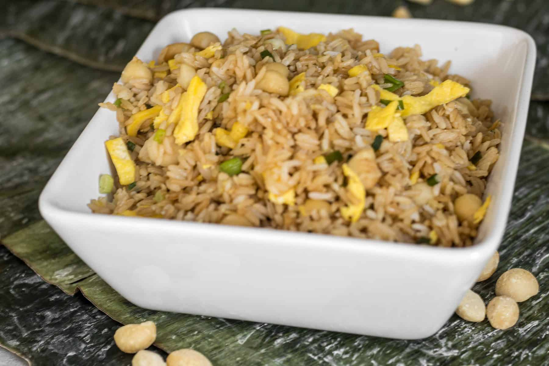 Macadamia Nut Fried Rice