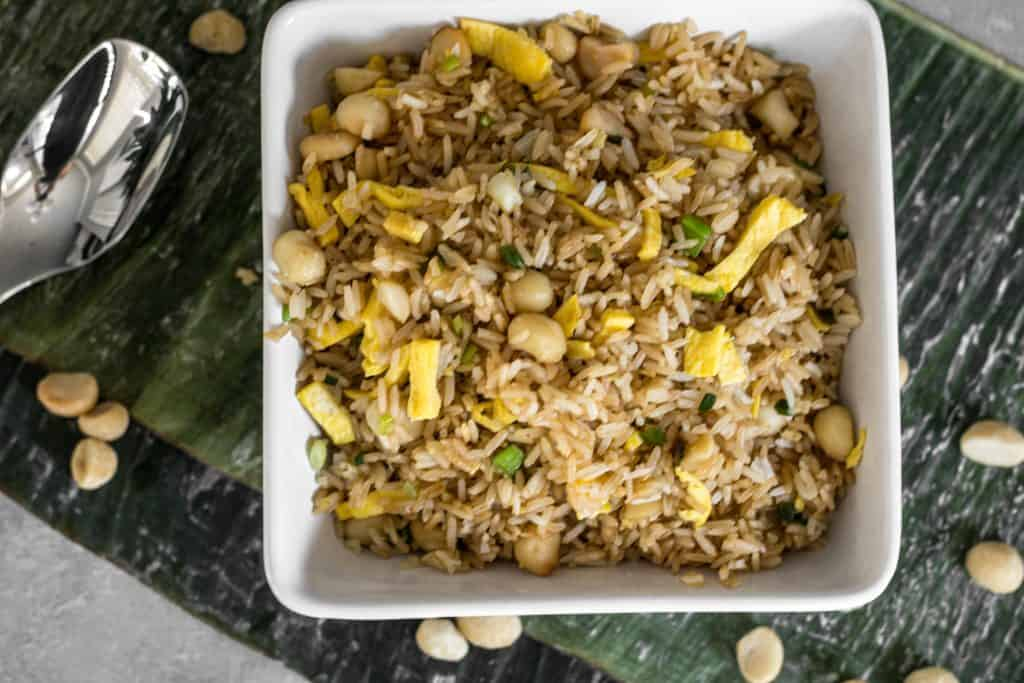 macadamia fried rice