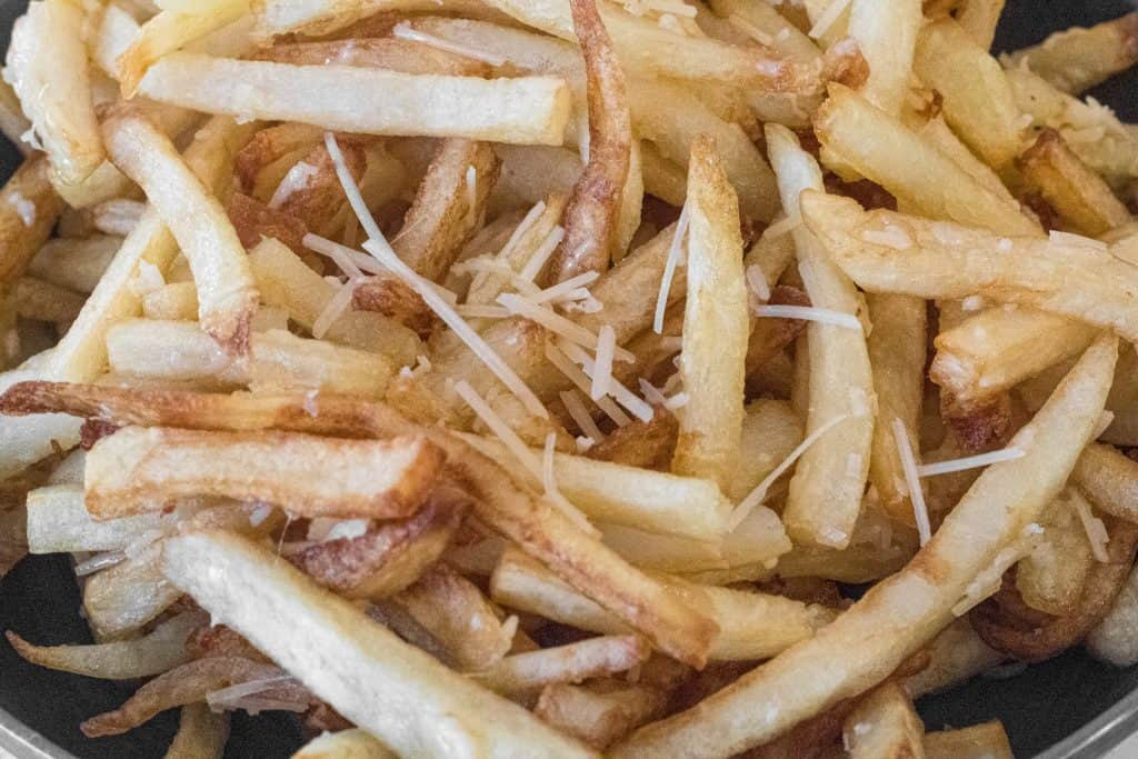 Close up of Parmesan Truffle Fries