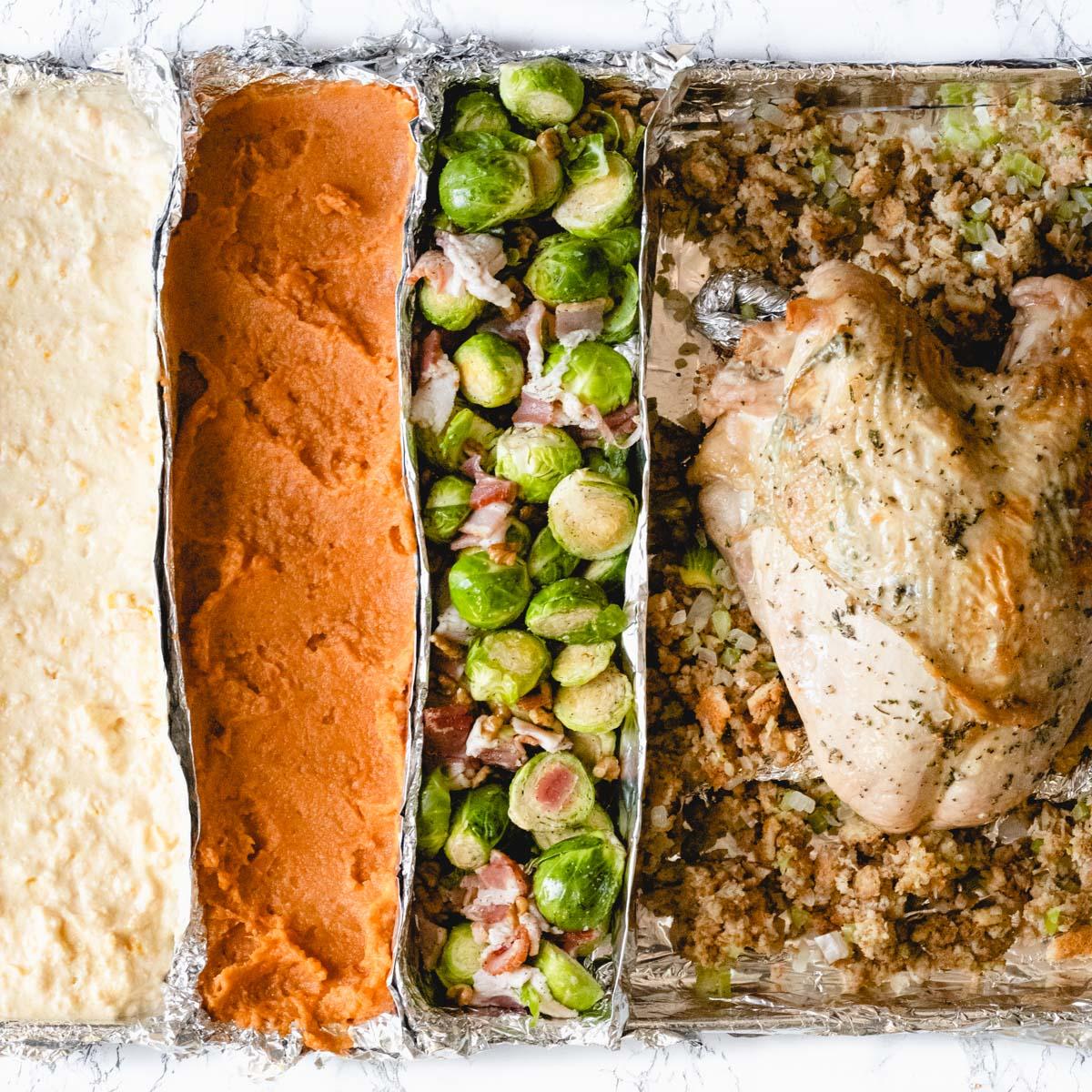 One pan thanksgiving dinner